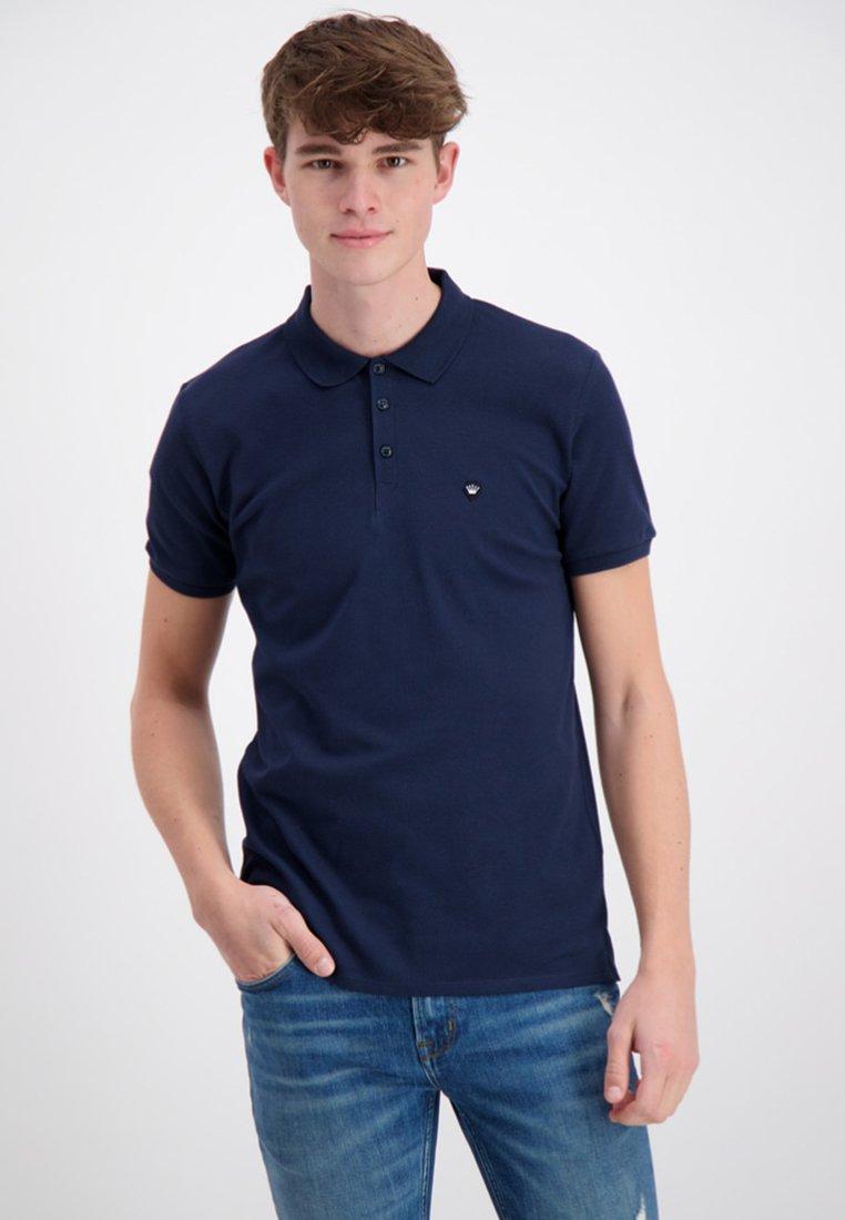 Junk De Luxe - JUNK DE LUXE PIQUÉ  - Poloshirt - dark blue