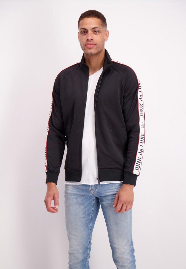 Junk De Luxe - Zip-up hoodie - black