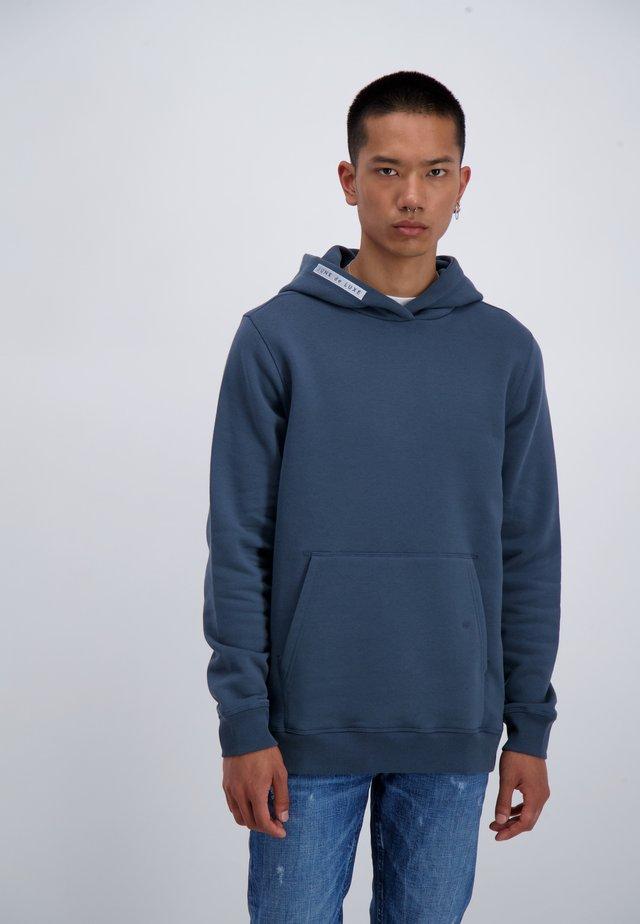 Hoodie - mid blue