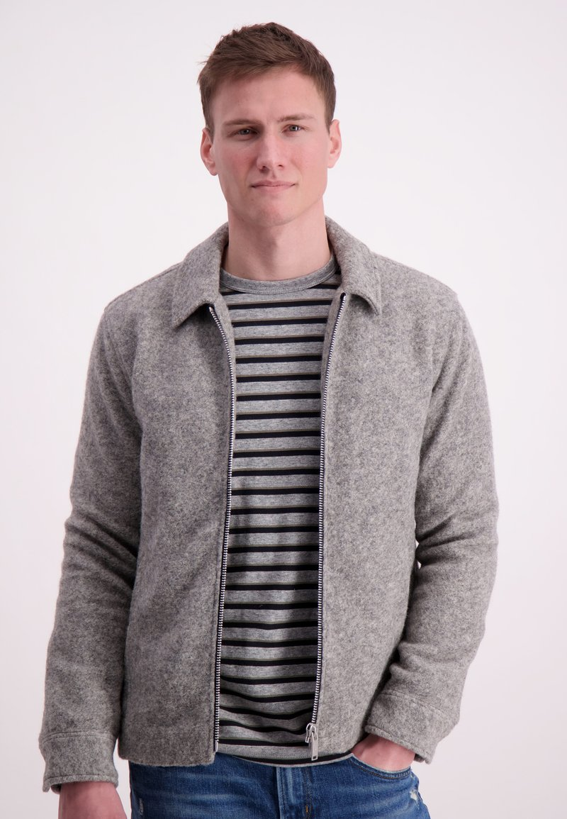 Junk De Luxe - Korte jassen - light grey