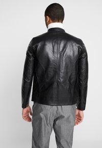 Junk De Luxe - RIDER JACKET - Leather jacket - black - 2