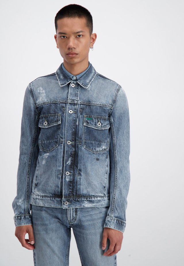 WISER WASH - Denim jacket - stone wash
