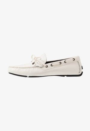 Moccasins - bright white