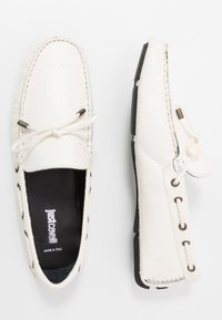 Just Cavalli - Mokkasiinit - bright white - 1