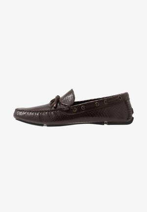 Moccasins - dark brown