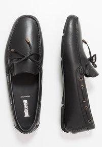 Just Cavalli - Mokkasiinit - black - 1