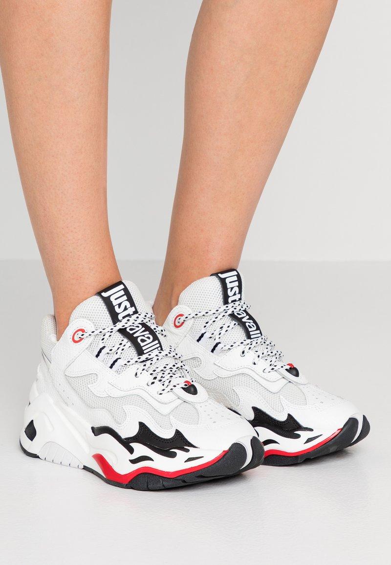 Just Cavalli - Trainers - white