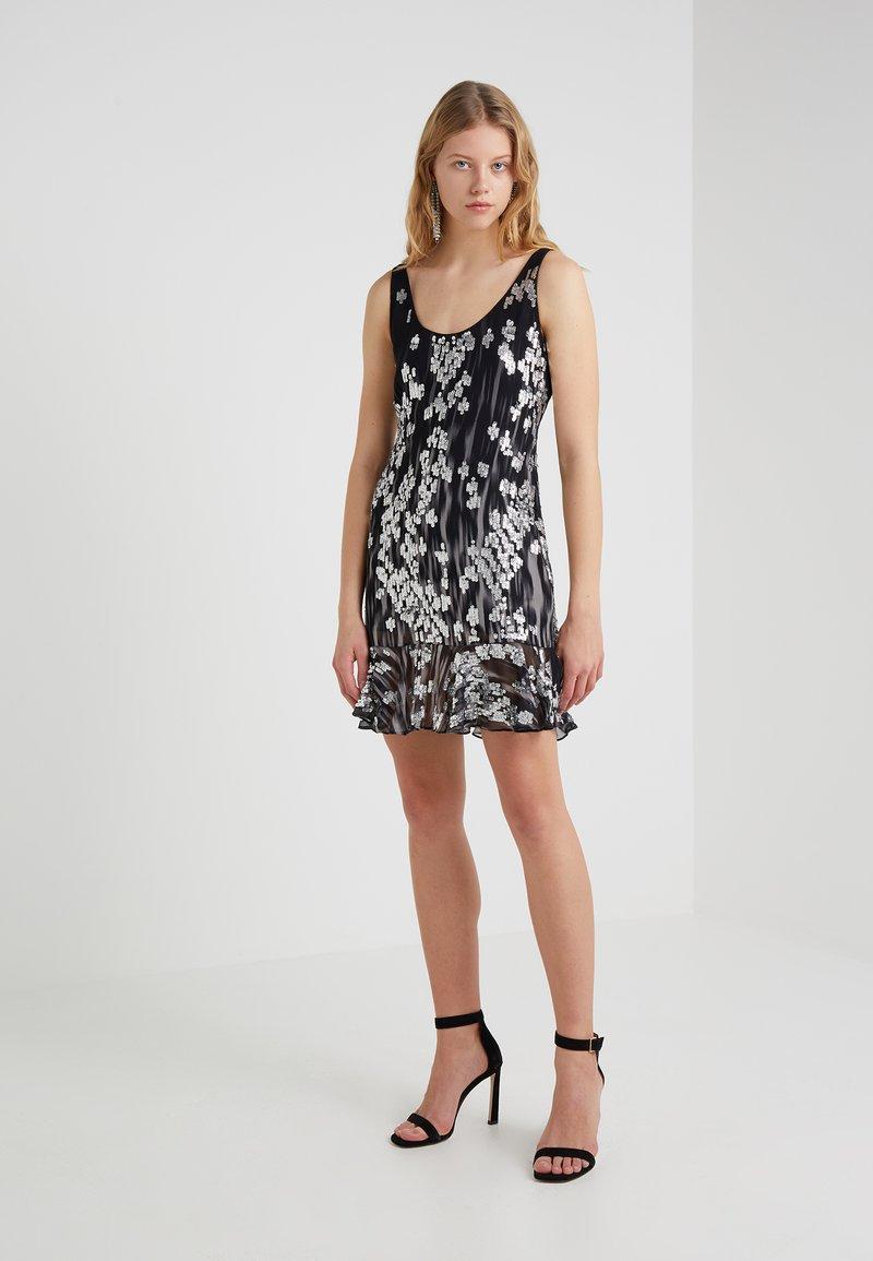 Just Cavalli - Robe de soirée - black/silver