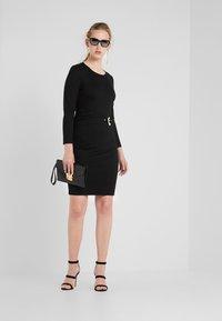 Just Cavalli - VESTITO - Pouzdrové šaty - black - 1