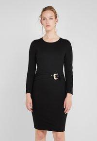 Just Cavalli - VESTITO - Pouzdrové šaty - black - 0