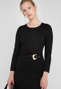 Just Cavalli - VESTITO - Pouzdrové šaty - black - 5