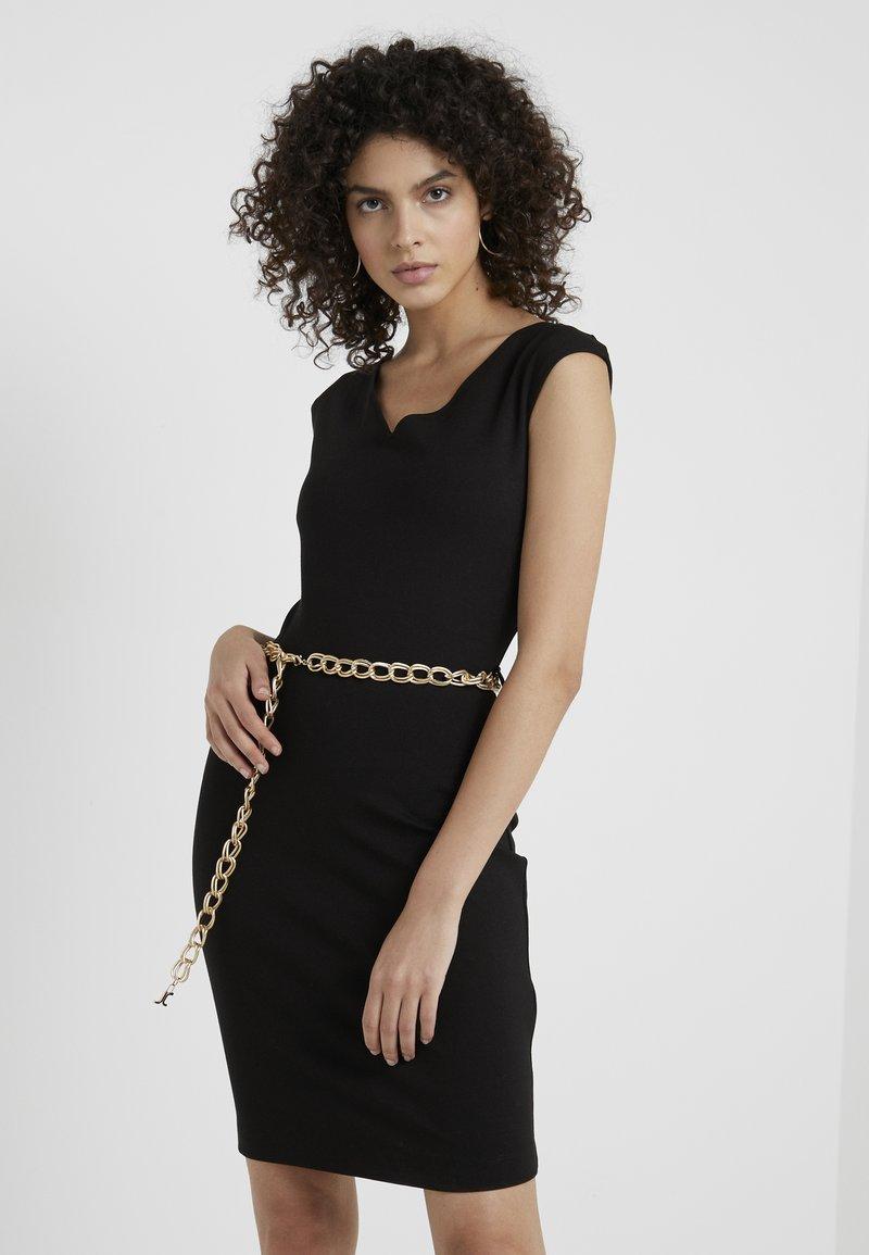 Just Cavalli - VESTITO - Jersey dress - black