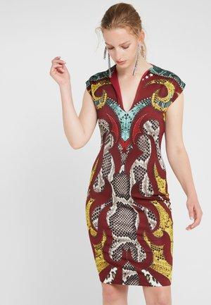 VESTITO - Pouzdrové šaty - red