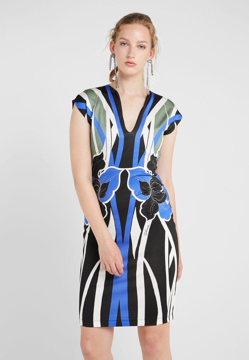 Just Cavalli - VESTITO - Pouzdrové šaty - print