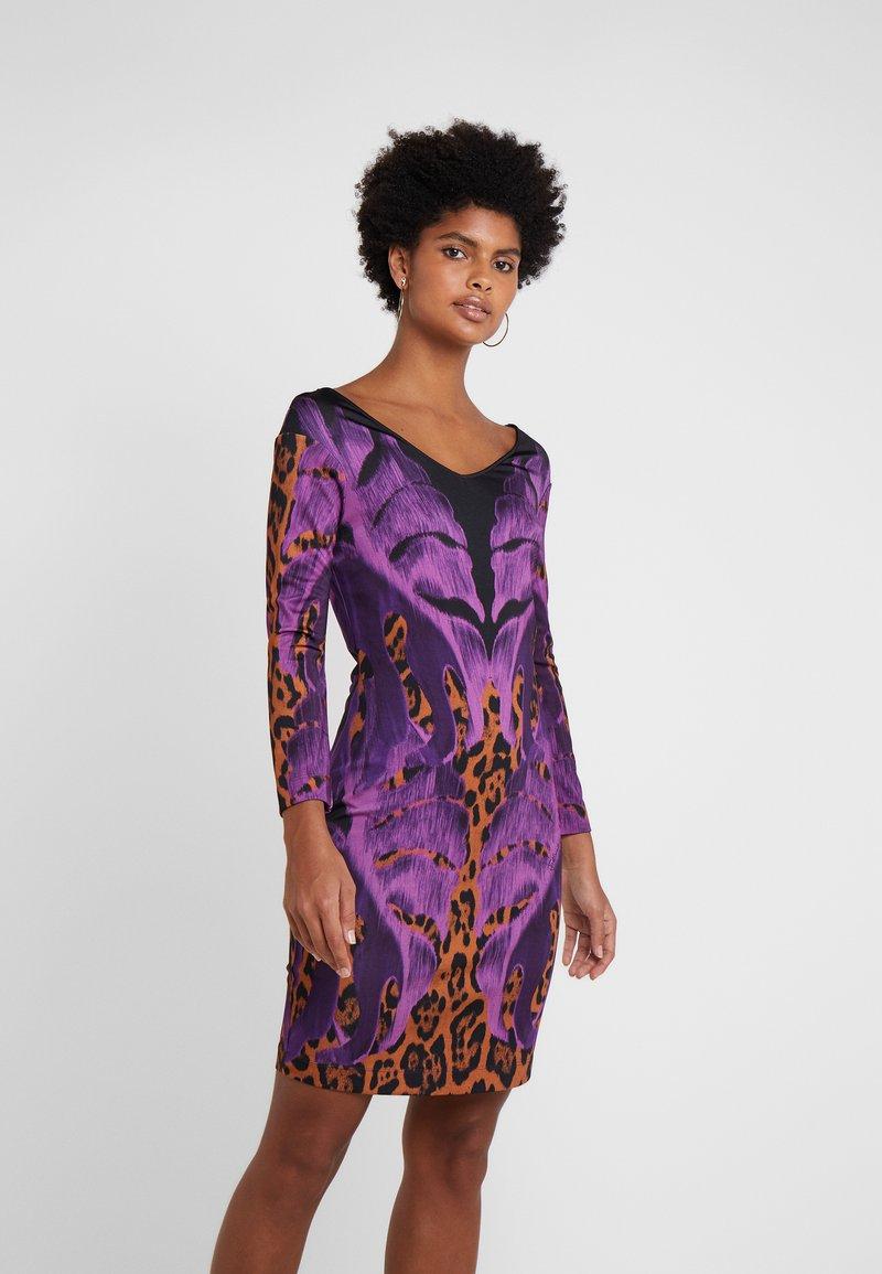 Just Cavalli Cocktailkleid/festliches Kleid - purple ...