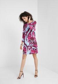 Just Cavalli - Žerzejové šaty - bordeaux variant - 1