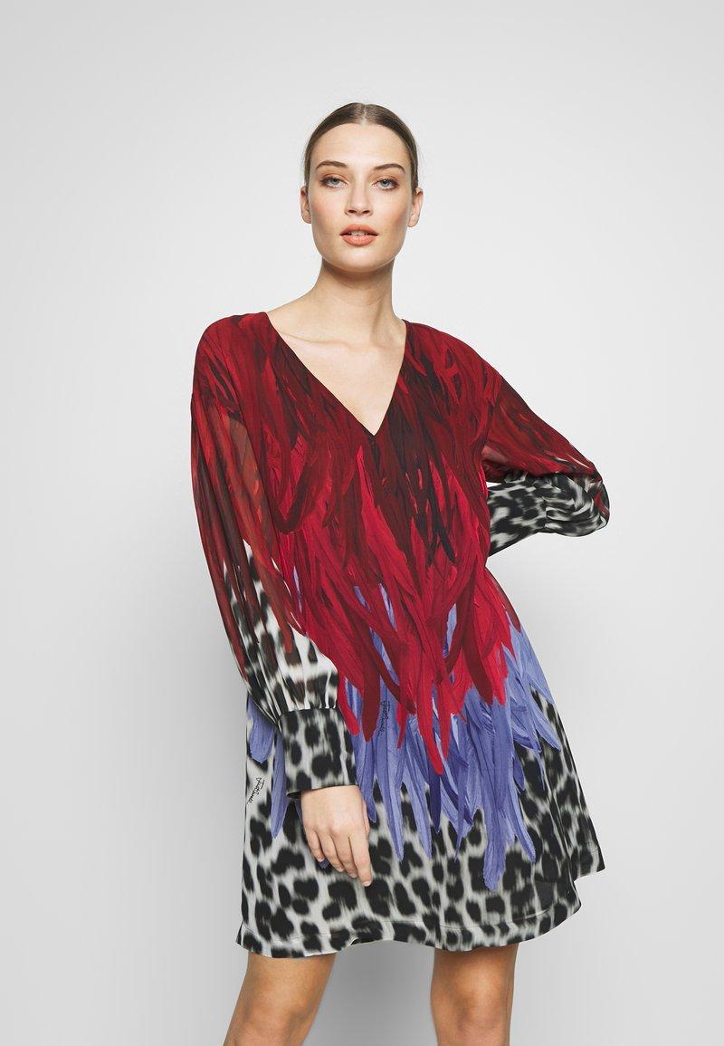 Just Cavalli - DRESS - Korte jurk - mars variant