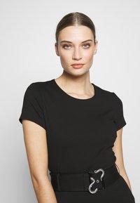 Just Cavalli - DRESS - Shift dress - black - 3