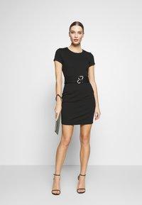 Just Cavalli - DRESS - Shift dress - black - 1