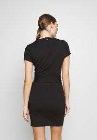 Just Cavalli - DRESS - Shift dress - black - 2