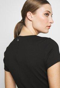 Just Cavalli - DRESS - Shift dress - black - 5
