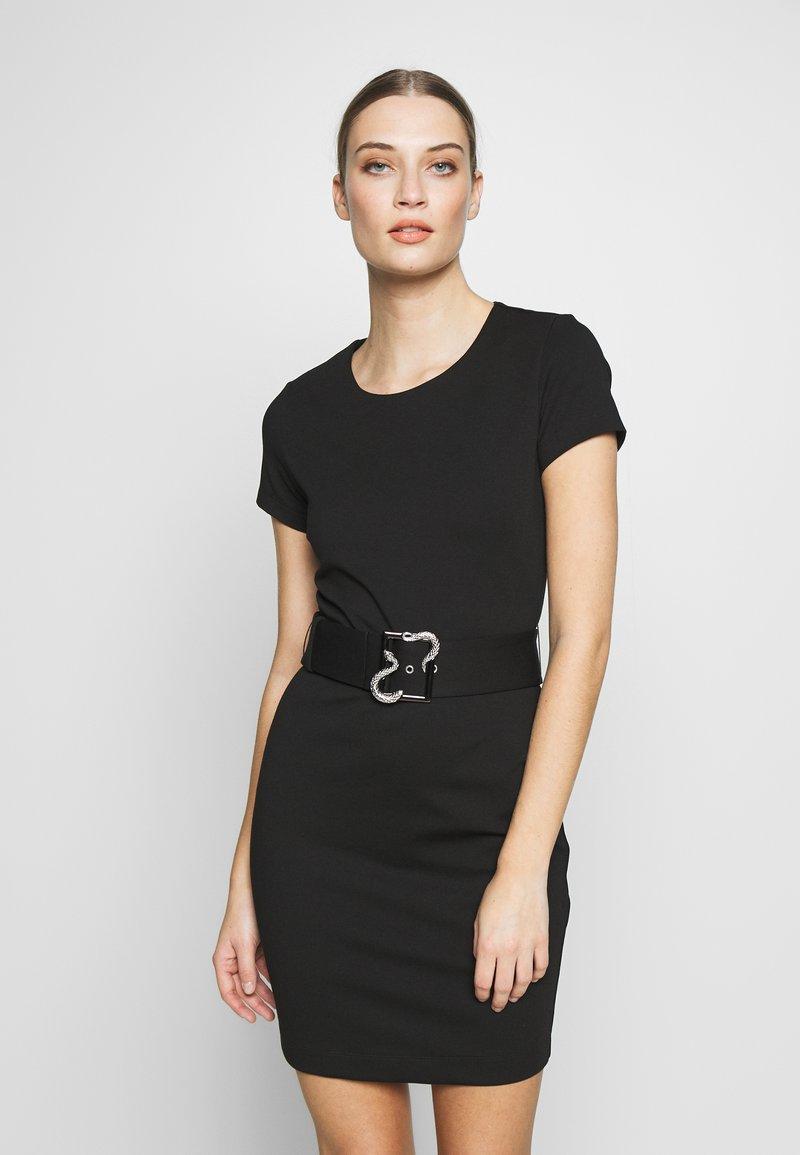 Just Cavalli - DRESS - Shift dress - black