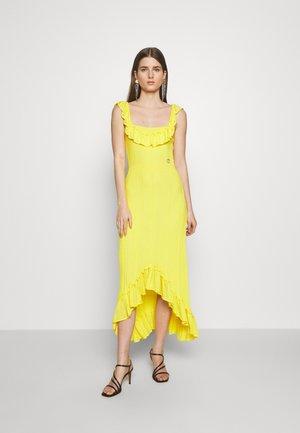 Společenské šaty - yellow