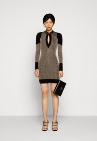Just Cavalli - Shift dress - gold/black - 1