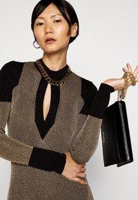 Just Cavalli - Shift dress - gold/black - 3