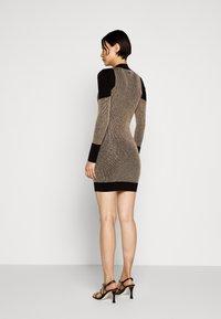 Just Cavalli - Shift dress - gold/black - 2