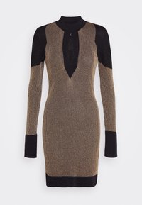 Just Cavalli - Shift dress - gold/black - 4