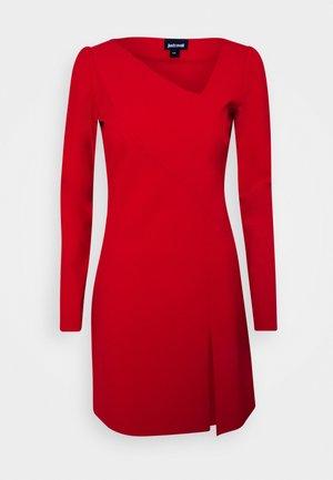 Day dress - grenadine red