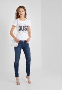 Just Cavalli - T-shirt print - white - 1