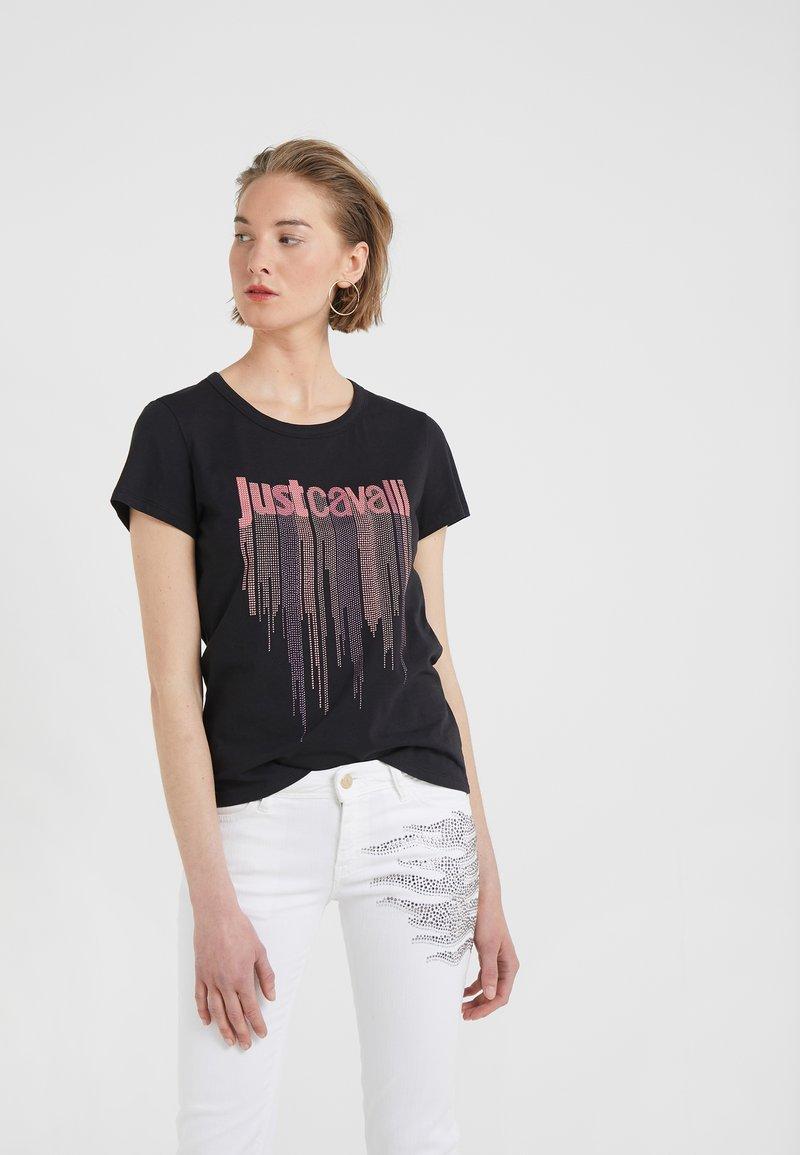 Just Cavalli - T-shirts print - black