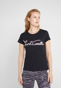 Just Cavalli - T-Shirt print - black - 0