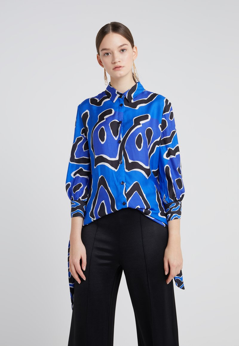 Just Cavalli - Blouse - blue print