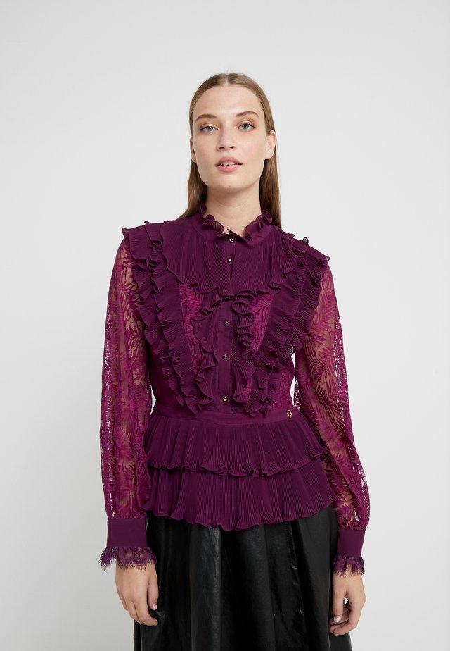 Bluse - magenta purple