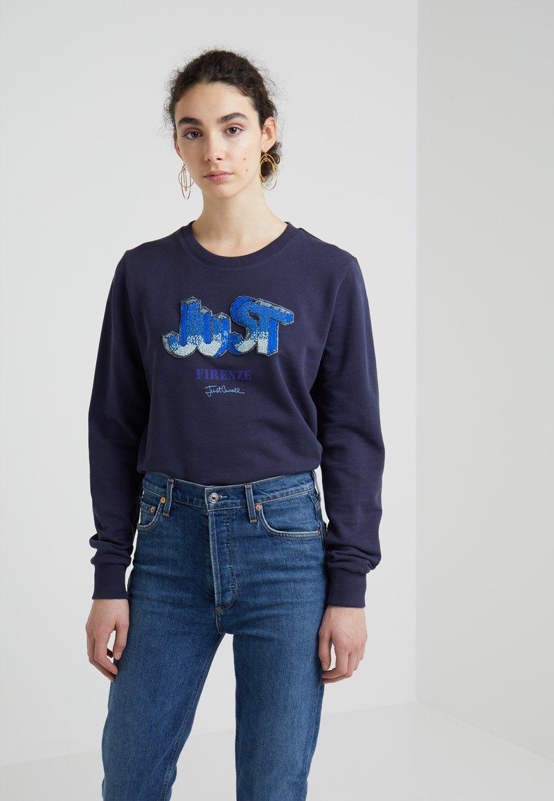 Just Cavalli - Sweatshirt - blue