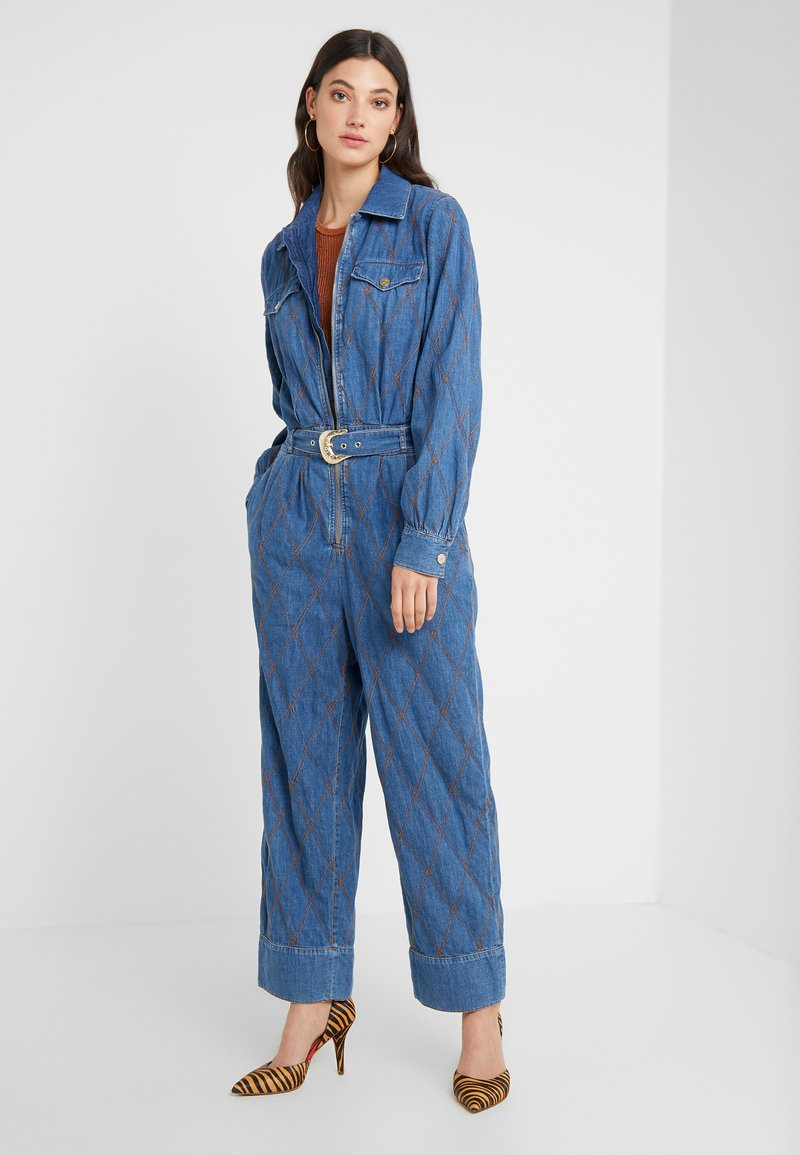 Just Cavalli - TUTA SALOPETTE - Jumpsuit - denim