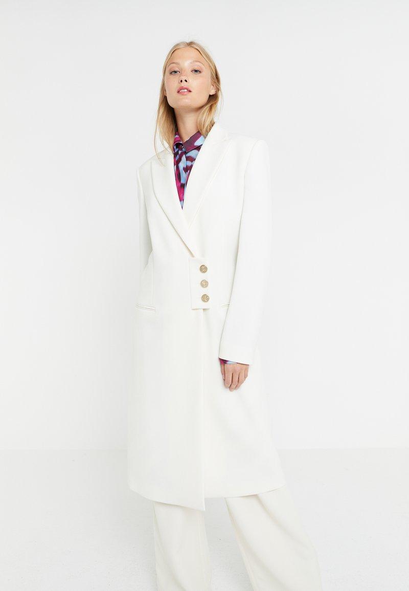 Just Cavalli - Wollmantel/klassischer Mantel - white
