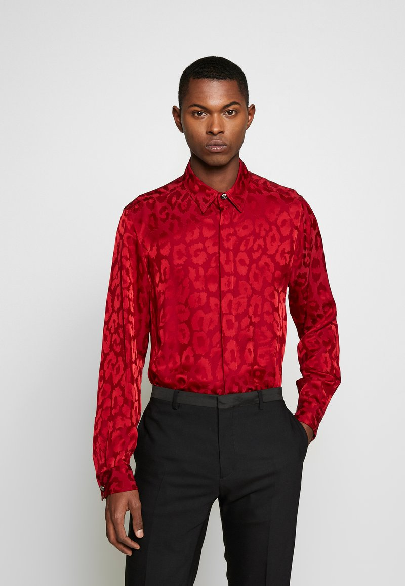 Just Cavalli - ANIMAL PATTERN SHIRT - Shirt - red