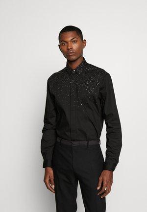 CRYSTAL SHIRT - Camisa - black