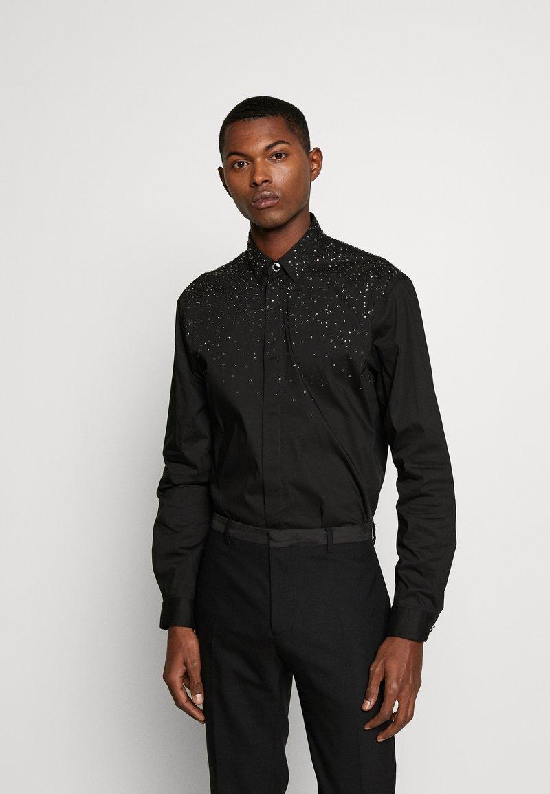 Just Cavalli - CRYSTAL SHIRT - Skjorte - black