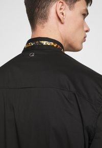 Just Cavalli - COLLAR BAND SHIRT - Shirt - black - 4