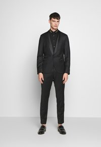 Just Cavalli - COLLAR BAND SHIRT - Shirt - black - 1