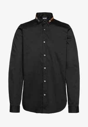 COLLAR BAND SHIRT - Košile - black