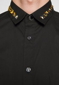 Just Cavalli - COLLAR BAND SHIRT - Shirt - black - 6