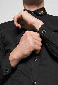Just Cavalli - COLLAR BAND SHIRT - Shirt - black - 3