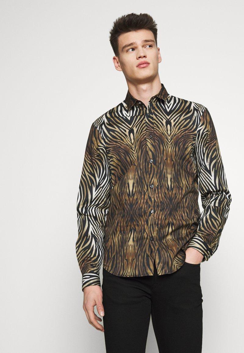 Just Cavalli - Shirt - black/brown