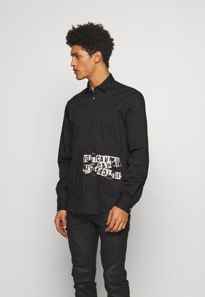 SHIRT BURN LOGO - Shirt - black